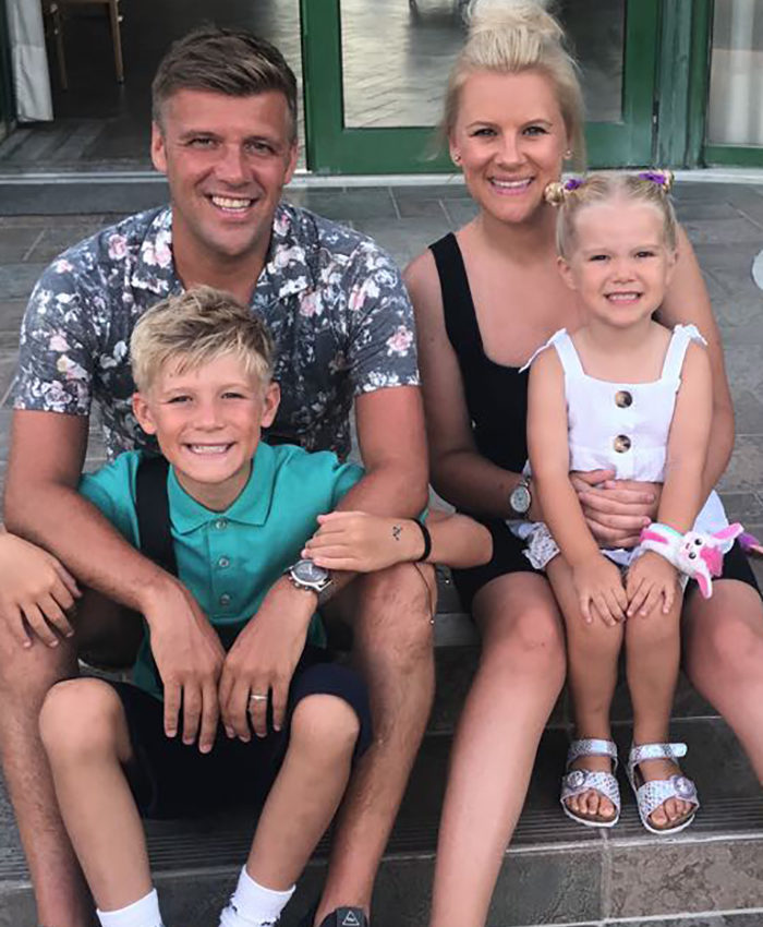 Lewis Hetherington Family