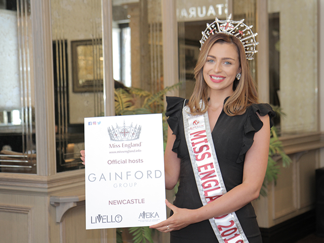 MISS ENGLAND FINAL COMES TO NEWCASTLE!