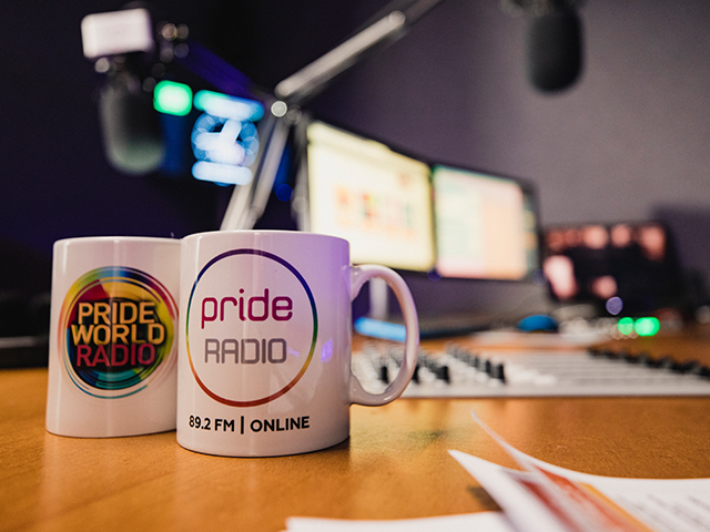 THE VERY FIRST PRIDE MEDIA CENTRE